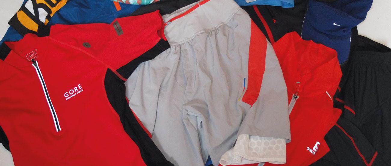 Laufbekleidung für das Trail Running