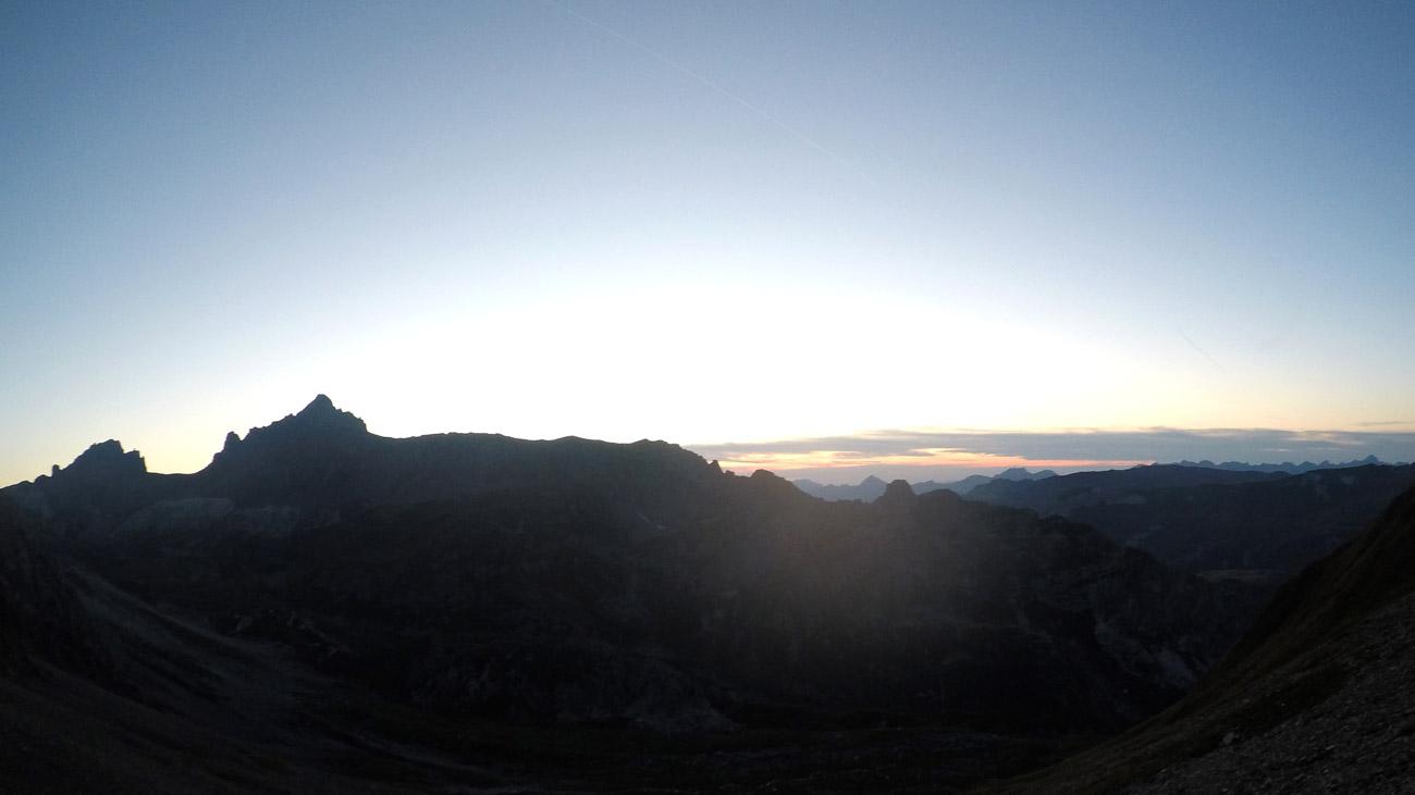 Sonnenuntergang - jetzt kommt die lange Nacht
