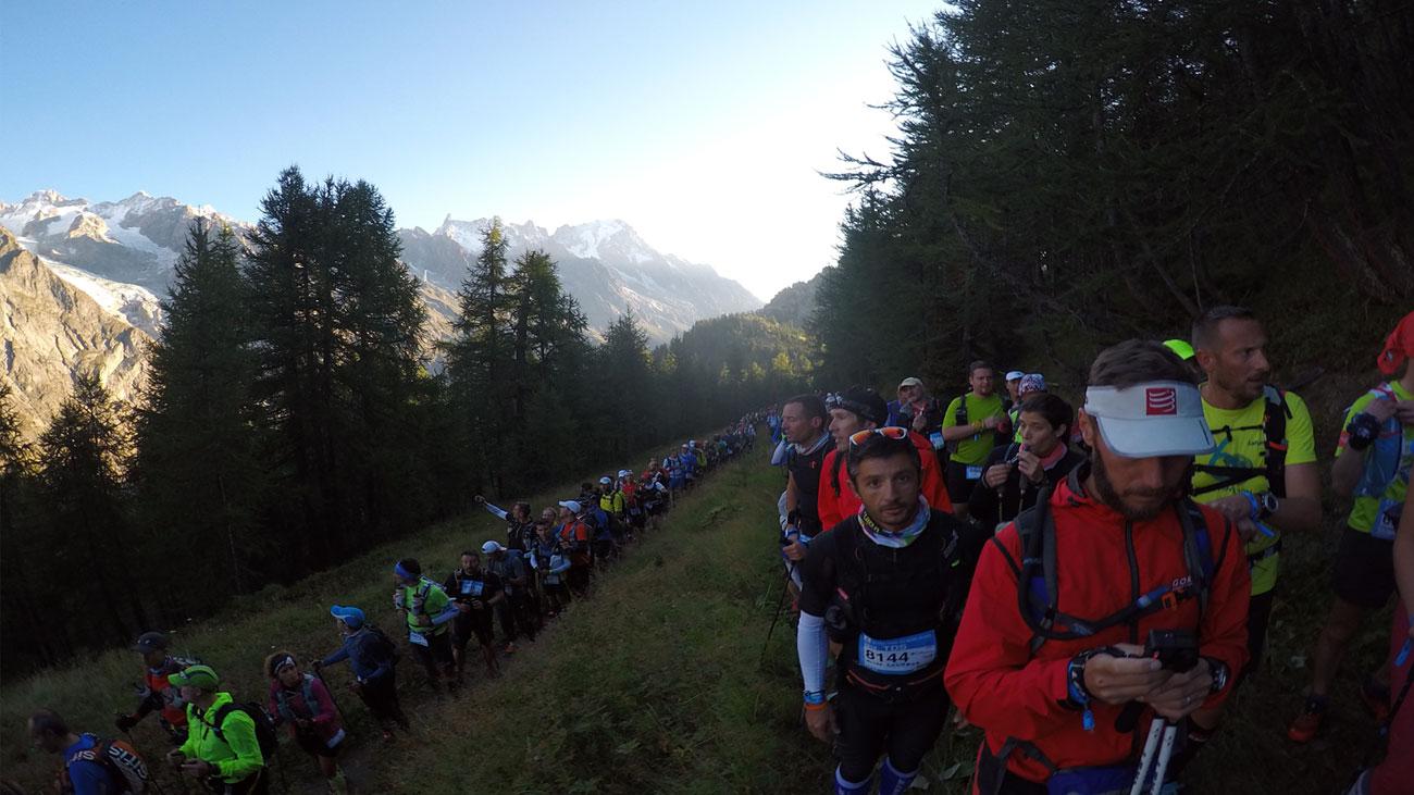 Stau auf den ersten Kilometern des TDS 2015