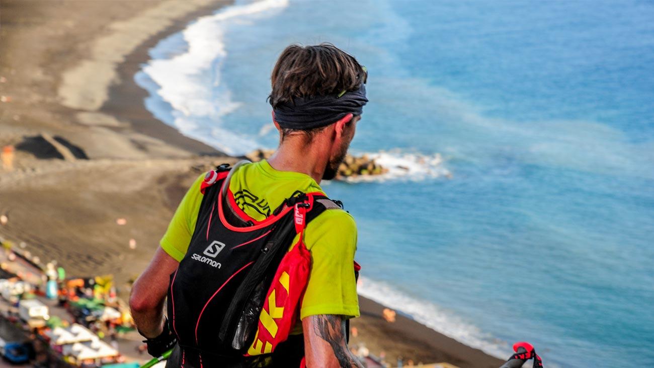 Beim Downhill zum Puerto de Tazacorte