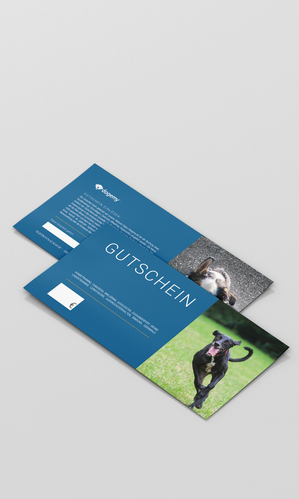 Geschenkgutschein Hundetraining